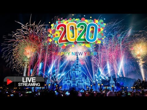 🔴 LIVE New Years Eve Fireworks Walt Disney World 2020 - Live Stream Magic Kingdom Fantasy In The Sky