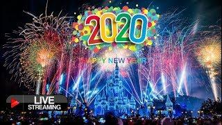 🔴 LIVE New Years Eve Fireworks Walt Disney World 2020 - Live Stream Magic Kingdom Fantasy In The Sky