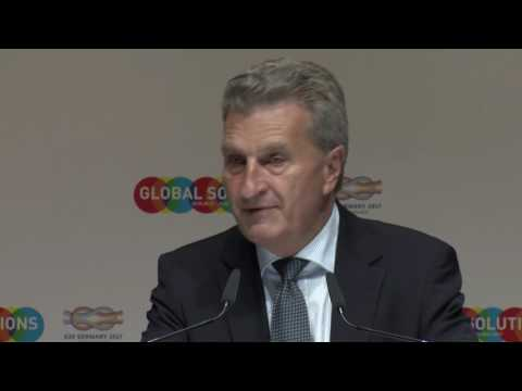 T20 Summit GLOBAL SOLUTIONS – Speech Günther Oettinger