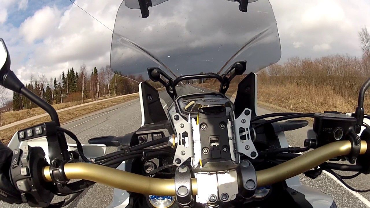 MCCruise motorcycle cruise control on Honda CRF 1000 L Africa Twin 2016