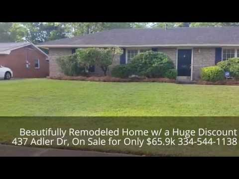 Beautifully Remodeled Home, Huge Discount, On Sale for Only $65,900