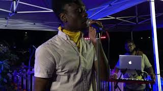 "Bashiri Asad & Be On It ""The Space Between"" Live at Indy Jazz Fest Block Party 2019"