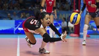 TOP 15 Best Volleyball Actions | Brenda Castillo | Best Libero In The World | Best Unbelievable Digs