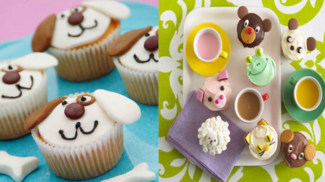 Cupcake themed decorating ideas for kids party youtube for Cupcake home decorations