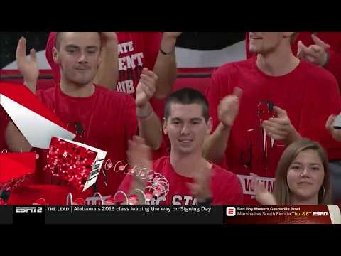 2018.12.19 #7 Auburn Tigers at NC State Wolfpack Basketball