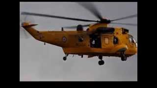 Westland Sea King in action