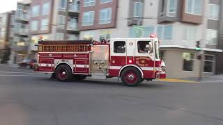 San Francisco Fire Department @ Columbus Ave & Bay St San Francisco California