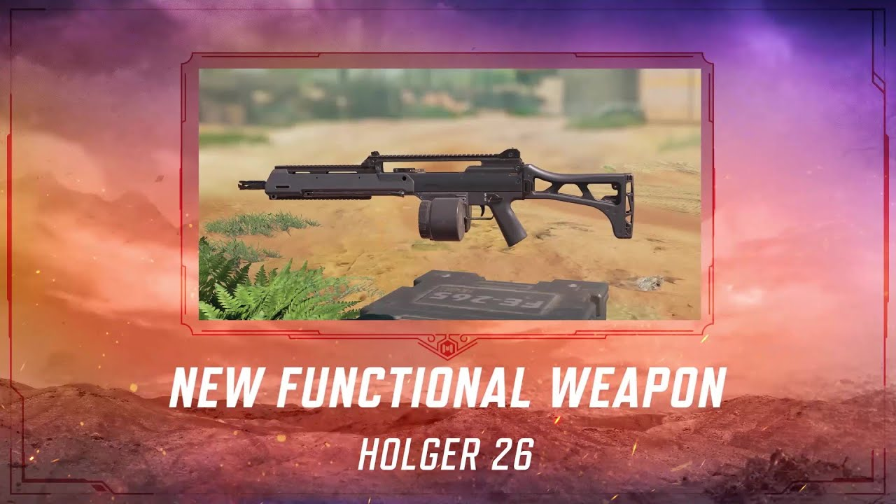 Call of Duty®: Mobile - S4 New Weapon | Holger 26