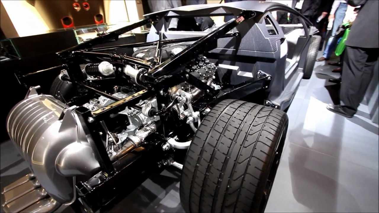 Lamborghini Aventador Chassis Youtube