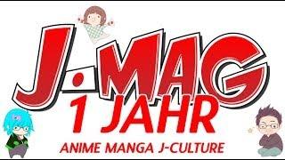 Anime Manga - 1 Jahr J-Mag