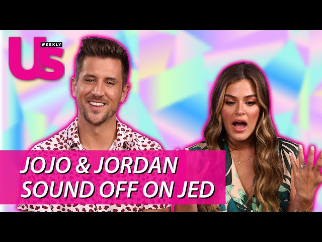 Jojo Fletcher and Jordan Rodgers Share Their Thoughts on Jed and Peter