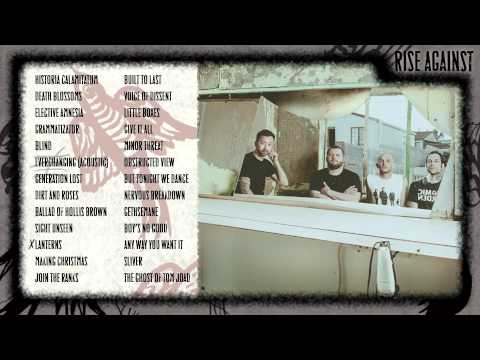 Rise Against - Long Forgotten Songs: B-Sides & Covers 2000-2013 (Album Release Video)