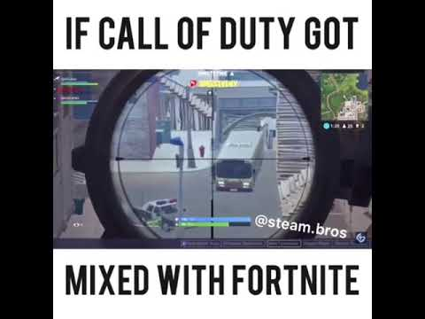 IF CALL OF DUTY GOT MIXED WITH FORTNITE