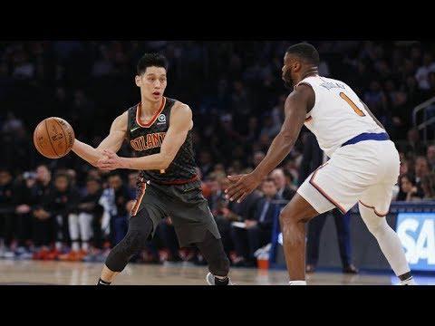 Jeremy Lin Full Highlights - Hawks vs Knicks