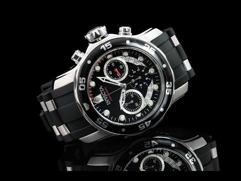 Invicta 21927 48mm Pro Diver Scuba Quartz Chronograph Strap Watch