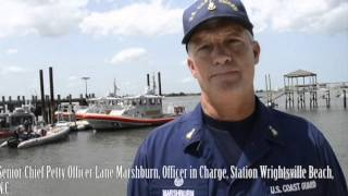Coast Guard, Local Law Enforcement At Wrightsville Beach