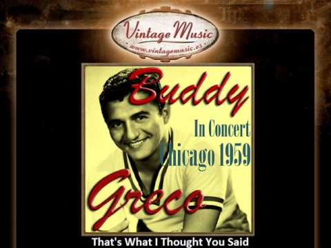 Buddy Greco -- That's What I Thought You Said