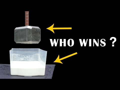 91 lb THOR HAMMER V OOBLECK - Unstoppable force V Immovable object EPISODE 4