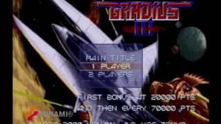 Gradius III and IV: Gameplay (PlayStation 2)