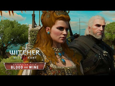 The Witcher 3: Blood and Wine - Walkthrough Part 2: Meeting the Duchess [No Hud] [Death March]