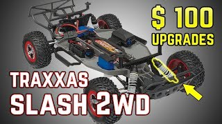Top cost effective Upgrades for Traxxas Slash 2WD. Best sellers for 2018
