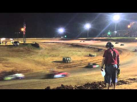 Junior 1 Feature | Hattiesburg Speedway | Deep South Series