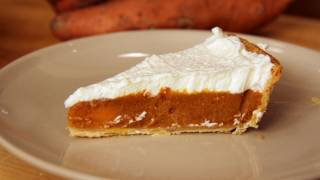 Sweet Potato Pie Recipe - Laura Vitale - Laura In The Kitchen Episode 243