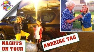 ABREISETAG FAMILIENURLAUB TÜRKEI - 1000 km NACHTS ON TOUR - Family Fun