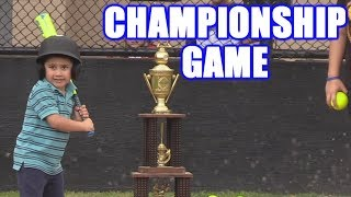 INCREDIBLE CHAMPIONSHIP GAME! | Offseason Softball Series
