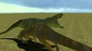 Gmod Rexy VS T-Rex
