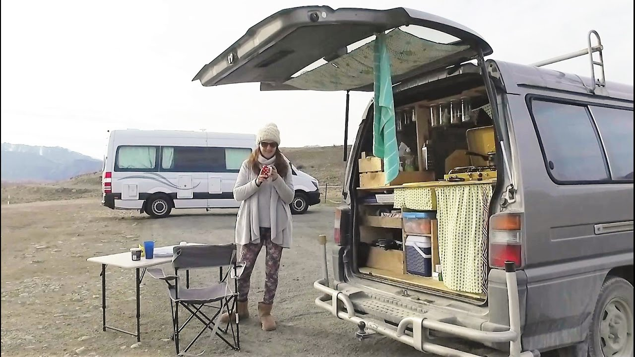 23b203a19e French girl builds camper van and travels New Zealand - Meet Audrey Rambaud  - YouTube