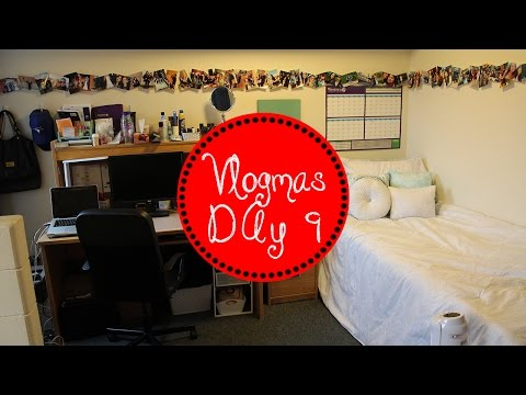 Dorm Room Tour | UWO | Perth Hall | Vlogmas Day 9