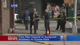 Father, Son Hurt In Gunpoint Robbery