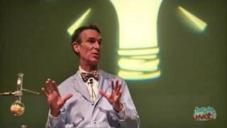 Bill Nye the Science Guy Answers Question About Ellen's Energy Adventure Epcot 2/23/11