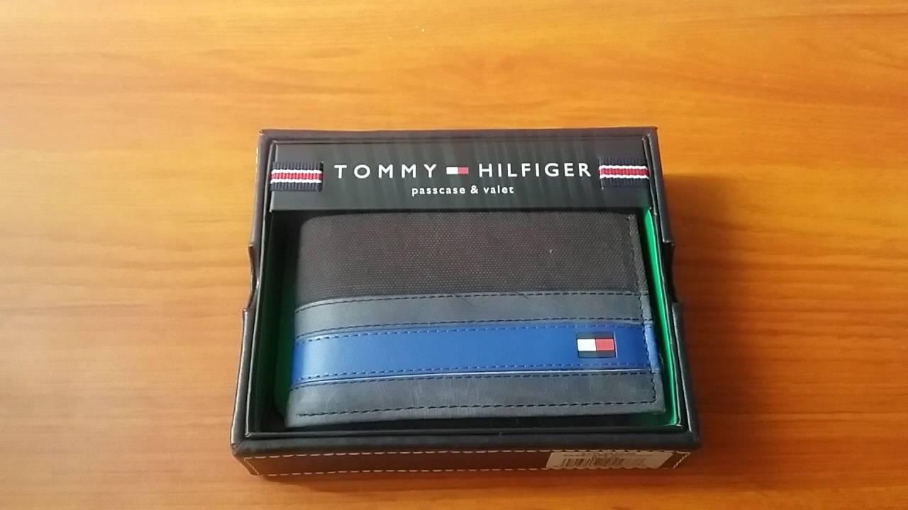 10dab19b1863 Tommy Hilfiger Men's Exeter Passcase Billfold Wallet