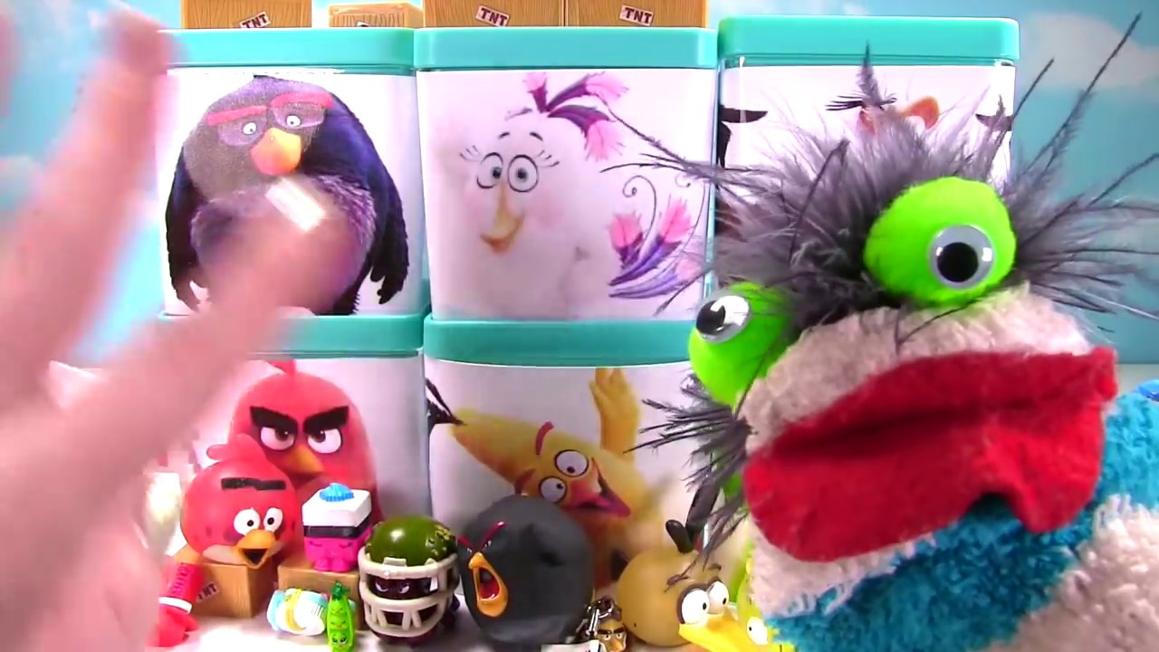 Angry Birds Movie Toy Surprise Blind Boxes Tnt Invasion Playset