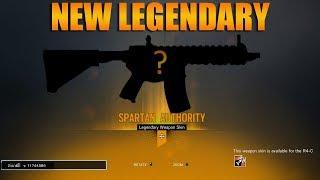 New ash legendary r4c skin