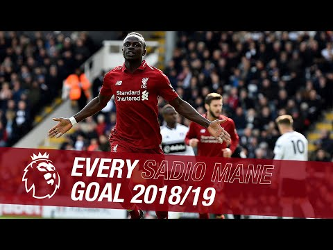All 26 Sadio Mane goal from the 2018-19 season | Cheeky back heels and moments of genius