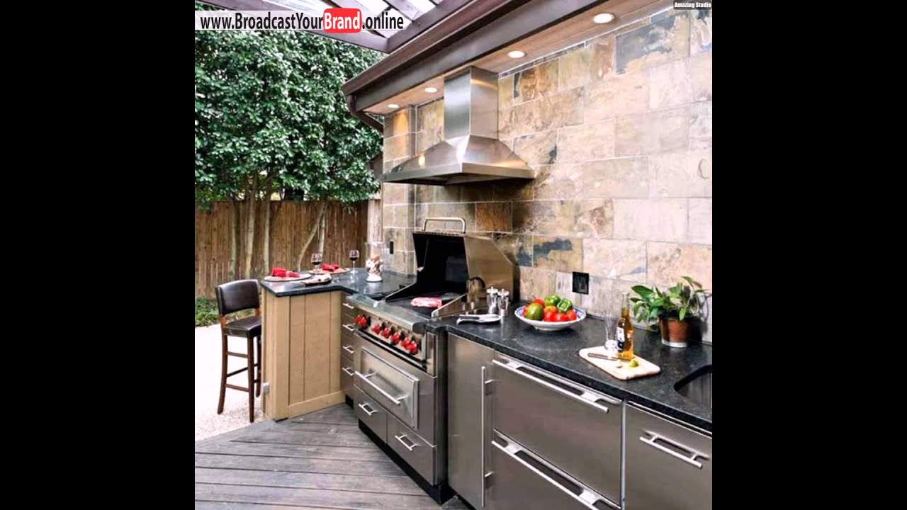 grill bereich im garten k che youtube. Black Bedroom Furniture Sets. Home Design Ideas