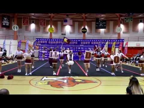 Brooklyn College Cheerleading CUNYAC 2015