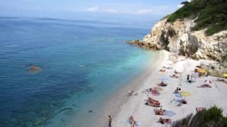 ISOLA D'ELBA: Spiaggia La Sorgente e Sansone 01-06-10.MOV