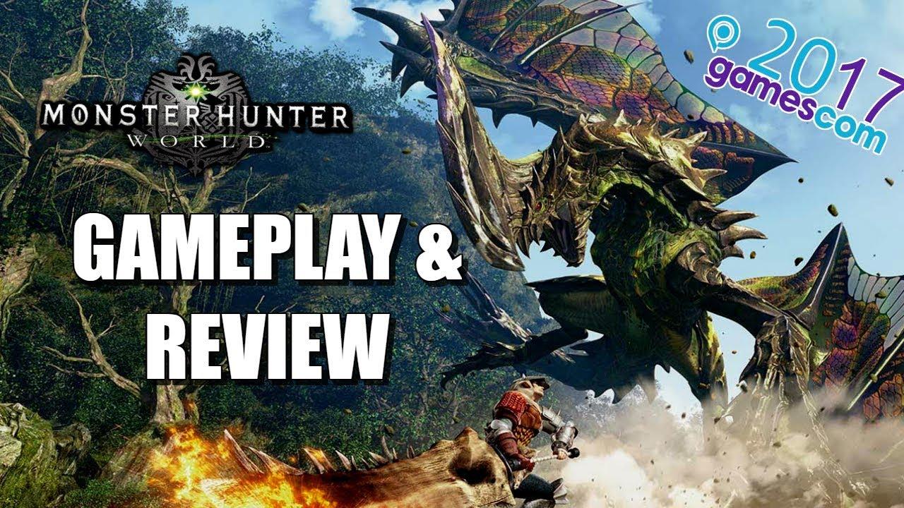 MONSTER HUNTER WORLD Review & Gameplay