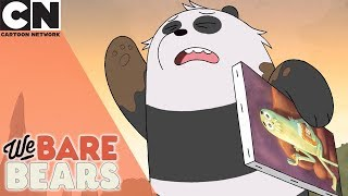 We Bare Bears | Pandas Best Painting | Cartoon Network