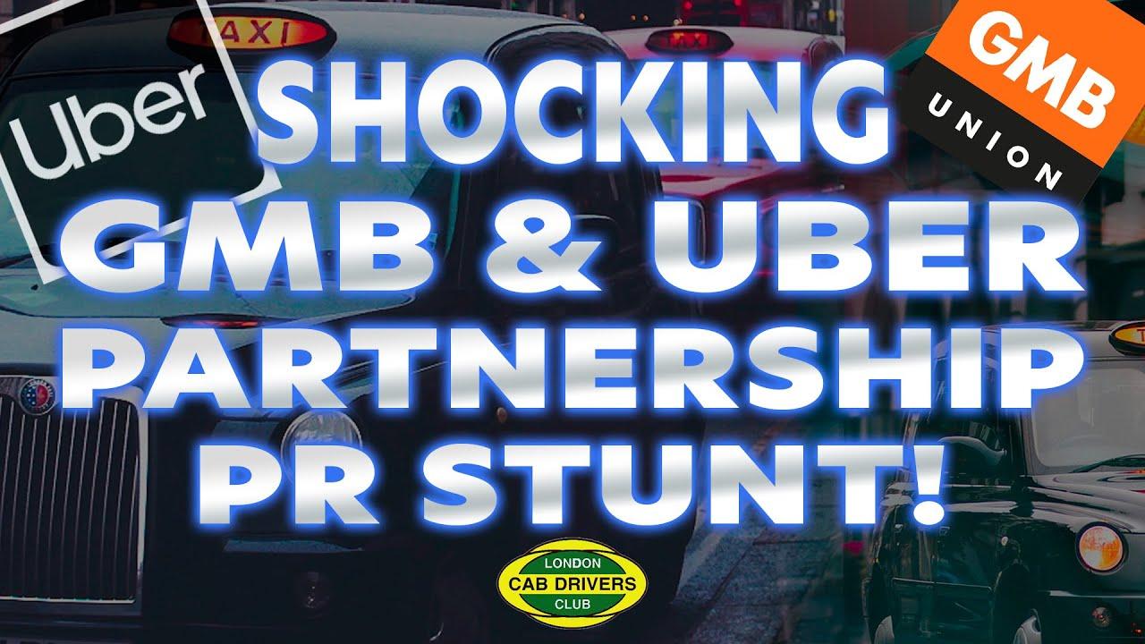 Shocking GMB & Uber partnership PR stunt and more!