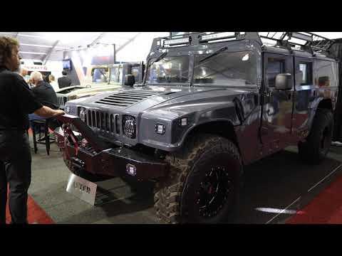 Surplus Military Humvee to H1 Hummer Conversion
