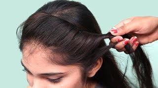 Simple & Cute Hairstyles for Short/Medium Hair | Hairstyles tutorials || playeven fashions