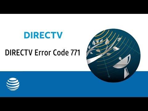 DIRECTV Error Code 771   AT&T DIRECTV