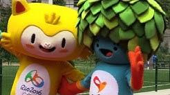 Rio 2016: Zwei Maskottchen für Olympia vorgestellt