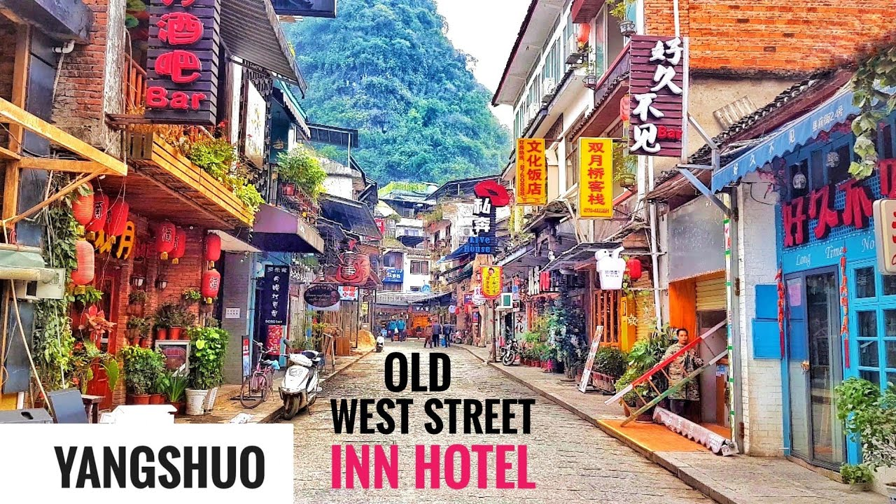 Old West Street Inn Yangshuo Design Hotel Guilin Mountains