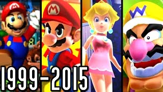Repeat youtube video Mario Tennis & Golf ALL INTROS 1999-2015 (Wii U, 3DS, GC, N64)
